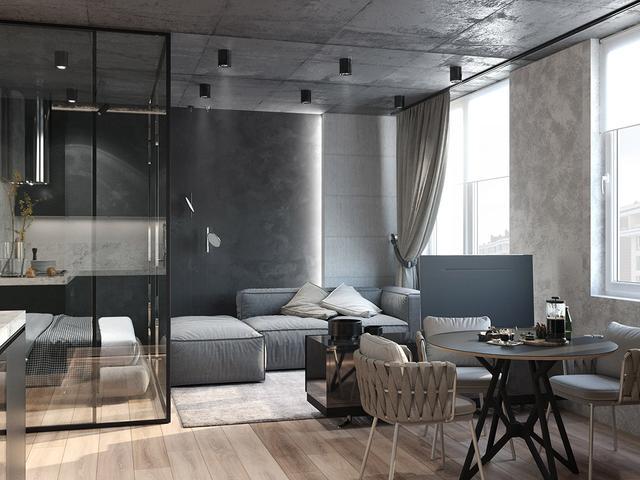 四套独特的工业风公寓,将工业、艺术融入家居空间