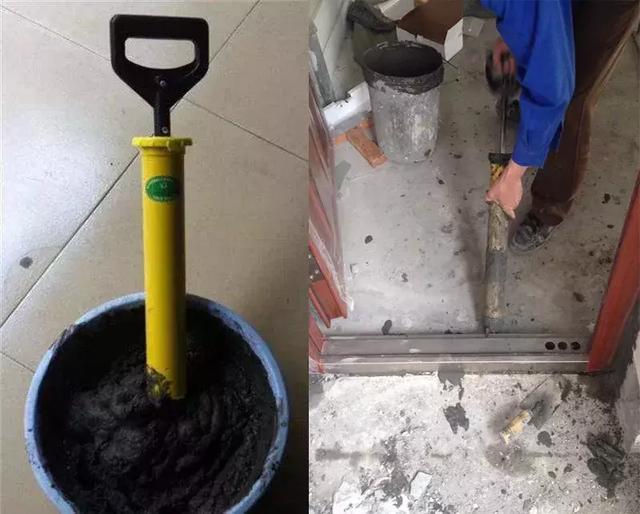 安装防盗门是在什么情况下需要灌水泥砂浆