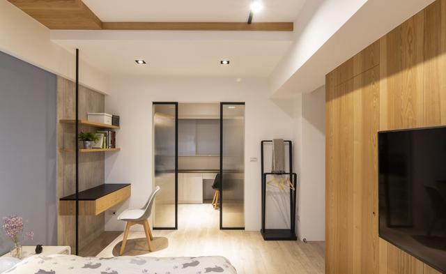 专访125平Loft风小宅,三房改两房,让屋主过上舒适惬意生活