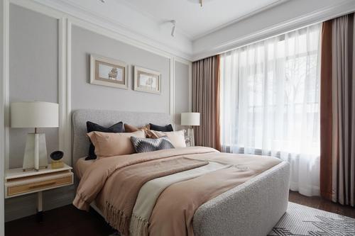 合肥装饰公司介绍卧室床摆放