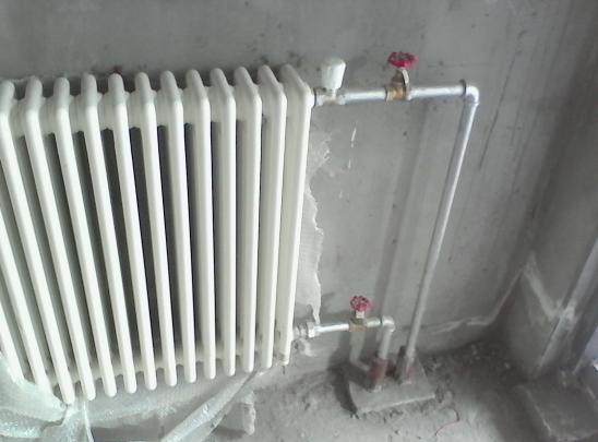散热器如何安装