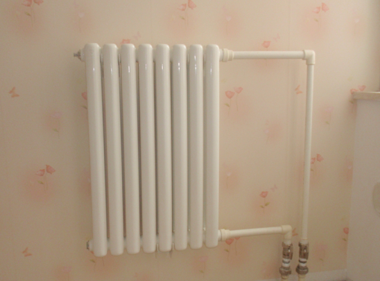散热器安装的位置