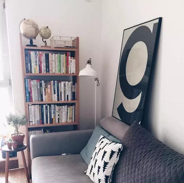 阅读区的设计 没有书房家中哪个位置最适宜?