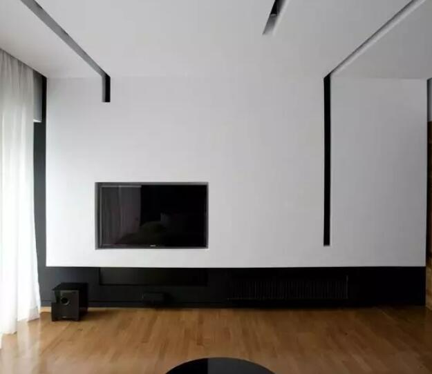 有钱人家的电视怎样装?学学苏明玉,把电视藏起来