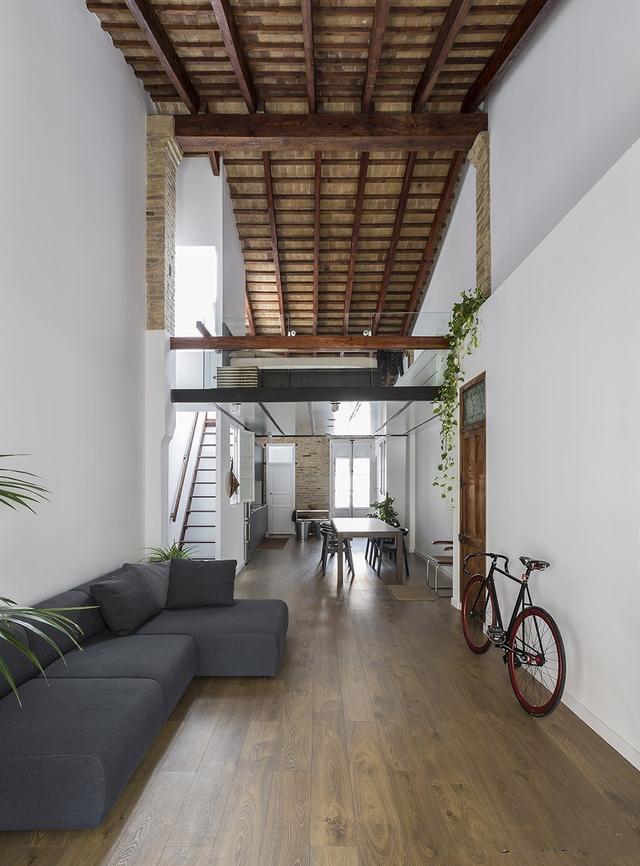 loft空间装修设计 体验上下参差间生活