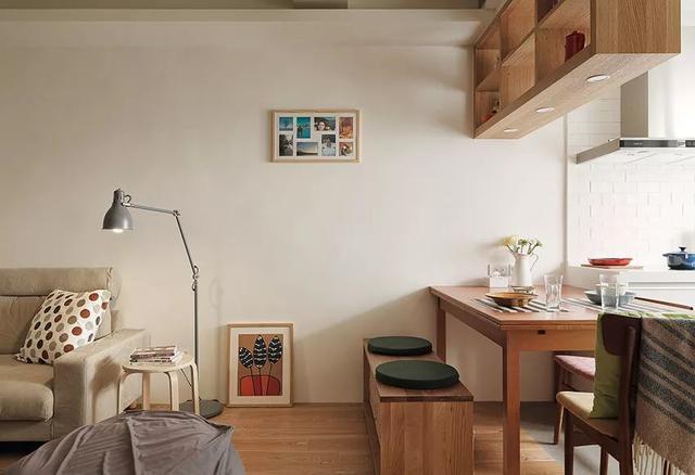 42平一居室小户型装修设计 隐形门很重要